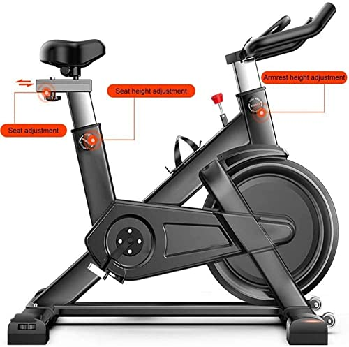 ZCYXQR Bicicletas de Ejercicio Verticales Silent Belt Drive para Entrenamiento Cardiovascular Profesional, Entrenamiento de Ejercicios en casa (Deporte de Interior)
