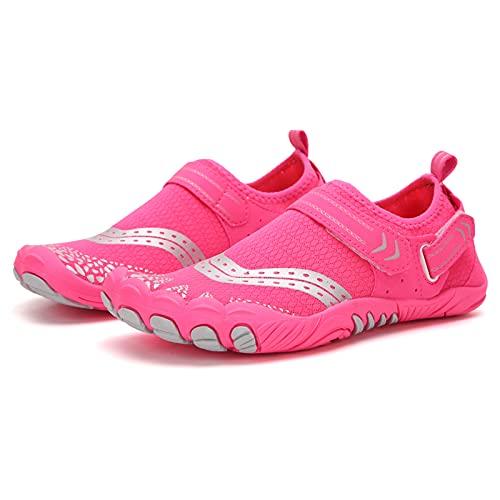 Flytise Zapatos de trekking de secado rápido para hombre y mujer, zapatos de deporte ligeros para playa, kayak, bote, zapatos de trekking de secado rápido