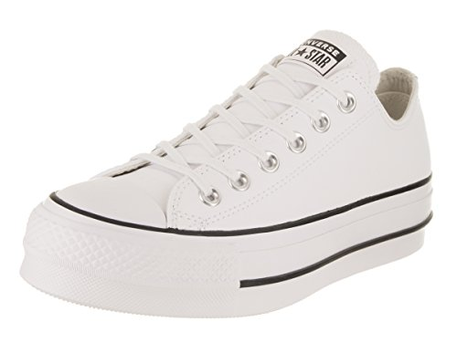 Converse Damen Chuck Taylor All Star Lift CLEAN Sneakers, Weiß (White/Black/White 102), 38 EU