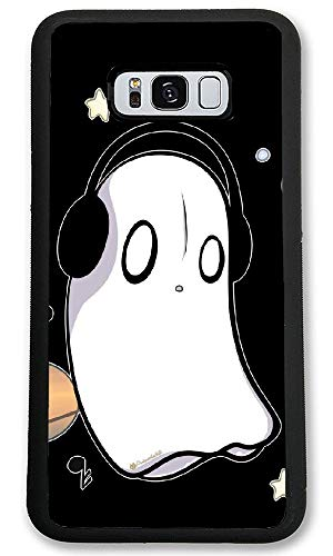 Undertale Napstablook Hard Plastic Phone Cell Case for Galaxy S8