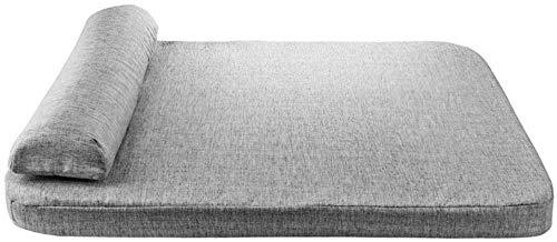 LHYLHY DasHundebettPremium Plüsch Orthopädie Wasserdichter Memory FoamHundebettQualität Therapeutisch mit KissenGroß 70x 60 x 6cm
