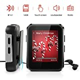 Leelbox MP3 Player with Clip, 16GB Bluetooth MP3 Player with Speaker, HiFi Music
