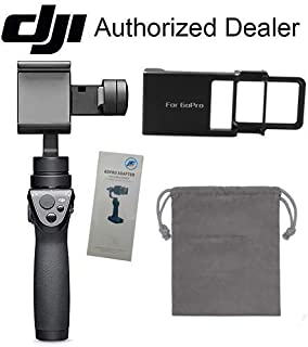 DJI Osmo Mobile 2 3-Axis Handheld Gimbal Stabilizer for Smartphones with Action Camera Adapter