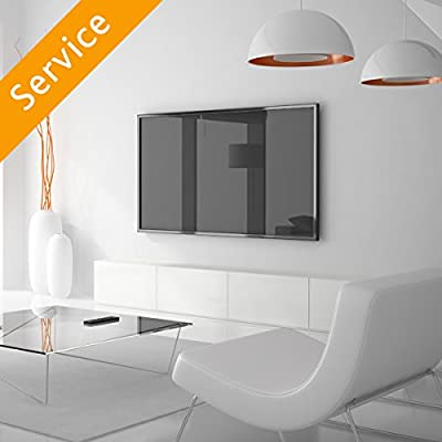 TV Wall Mounting - 51-65 inches, Customer Bracket, Cords Concealed in Cord Cover