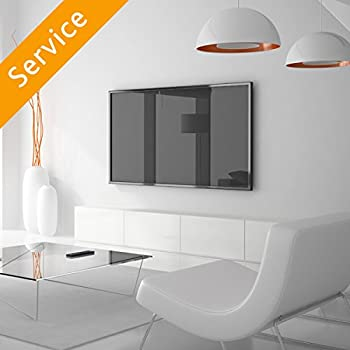 TV Wall Mounting - Up to 50 inch Customer Bracket Cords Concealed in Cord Cover