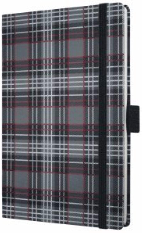 Sigel 3 x Notizbuch Conceptum Fashion Plaid 95x140mm liniert B004WO5G40   Lebhaft und liebenswert