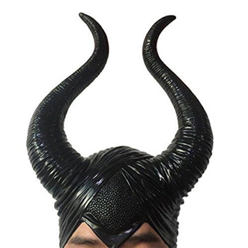 Black Long Horns Cosplay Costume Headpiece