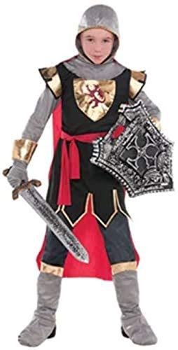 Amscan 843112 Crusader Knight Costume, Children Medium Size, 1 Piece