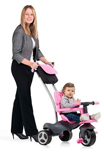 Urban Trike Soft Control Triciclo para Niños con 5 Formas de Ensamblar (Rosa)