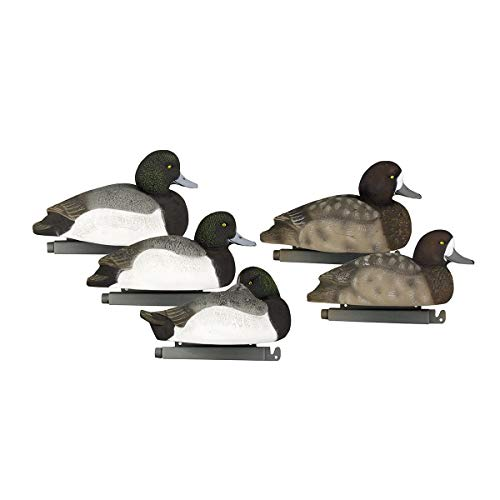 Tanglefree Flight Series Bluebill Decoy Pack of 6 - High Density Foam Filling Time Tested Weighted Keel