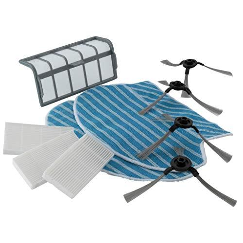 Blaupunkt Bluebot Saugroboter Zubehör-Set XSMART 10-teilig BPK-BHSM3