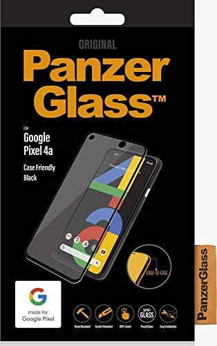 PanzerGlass E2E Google Pixel 4a Hülle Friendly, Black - Passend für Google Pixel 4a