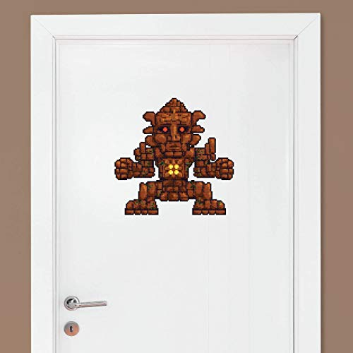 EricauBird Terraria Golem Wall Decal - Terraria Decoration - Terraria Sticker - Gaming Backdrop - Terraria Birthday Party (#1306) Easy to Apply and Removable