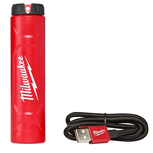 Milwaukee Electric Tools 48-59-2002 REDLITHIUM USB Charger, Red