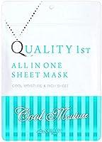 クオリティファースト(Quality 1st) オールインワンシートマスク グランクールモイスト 7 枚入り フェイスマスク 7枚