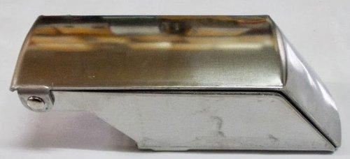GRATTA GHIACCIO TRITAGHIACCIO A MANO PER GRATTACHECCA E GRANITE ACCIAIO INOX PROFESSIONALE - GRATTA GHIACCIO - PROFESSIONALE in ACCIAIO INOX - in acciaio cromato inox con lama inox e contenitore per il ghiaccio tritato per versarlo direttamente nel bicchiere - IL NOSTRO PRODOTTO OLTRE AD ESSERE IN ACCIAIO INOX è ROBUSTO ed è PESANTE (330 gr.) 14 x 5 x H 4 cm c.ca
