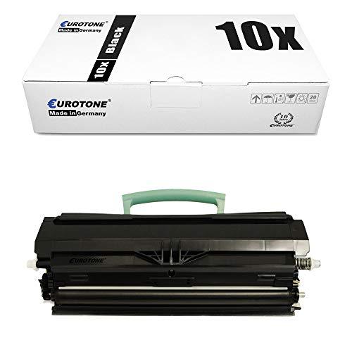 10x Eurotone Toner Cartridge for Dell 2330 2350 d dn n replaces 593-10335 PK941 59310335 PR700 Black