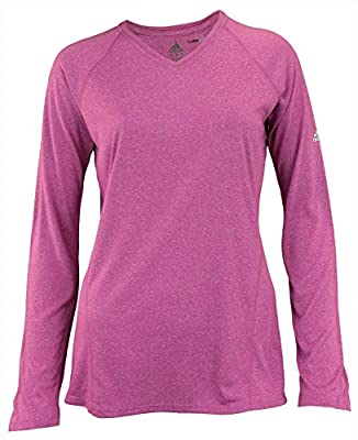 adidas Women's NEONH L/S Climalite TEE Size L