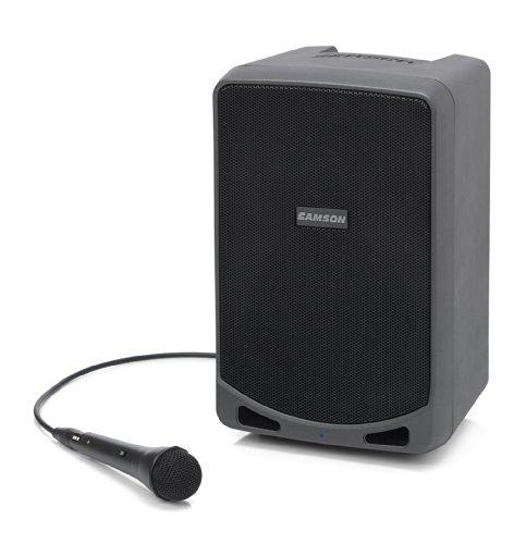 Samson  Expedition XP106 - PA portátil recargable con Bluetooth (equipo de sonido)