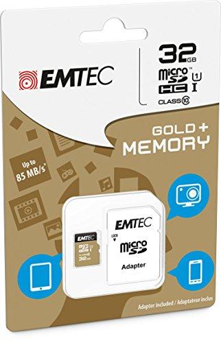 Tarjeta de memoria para Nikon Coolpix A900–32GB Micro SD clase 10+ Adaptador SD–EMTEC