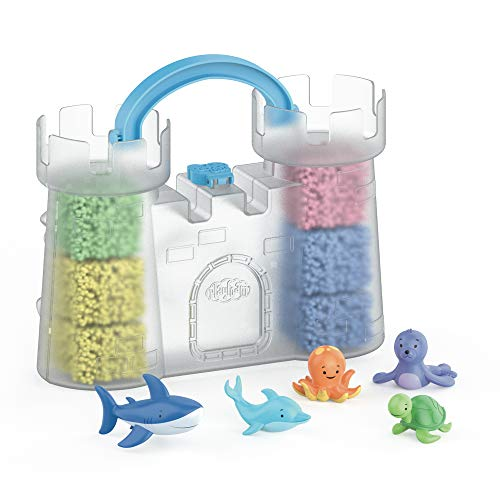 Educational Insights Playfoam GO! Squishy Sandcastle   Non-Toxic Never Dries Out   Travel   Sensory Shaping Fun Arts & Crafts For Kids   Friendly Sensory Toy   Perfect for Ages 3+