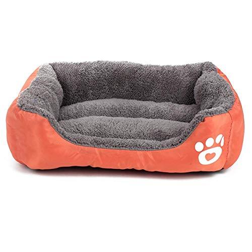 FQYYDD Dog Mat Dog Mattress House Mat Warm Winter Pet Bed With Small Medium-Sized Dog Plush Comfortable Nest. L F