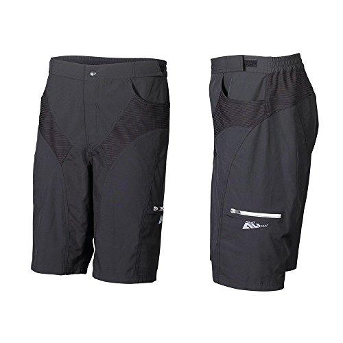 XLC Bermuda pour Homme, Homme, Shorts, 2510180400, Noir, XL