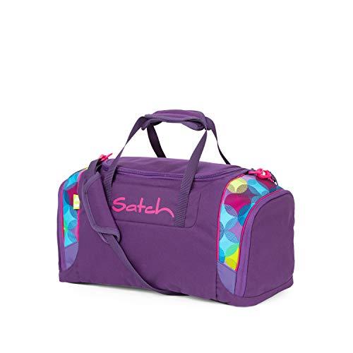 Satch Sporttasche - 25l, Schuhfach, gepolsterte Schultergurte - Sunny Beats - Lila