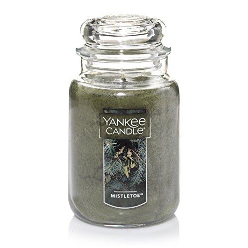 Yankee Candle Large Jar Candle, Mistletoe