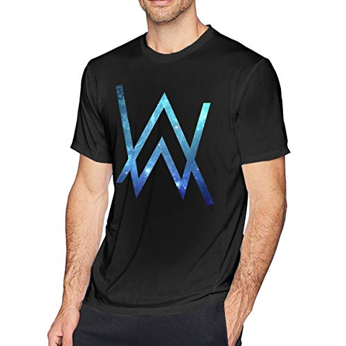 Fomente Alan Walker Herren Klassisch T Shirt Black 3XL