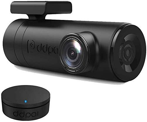 Dash Cam, DDPai Mini2P Car Dash Camera, Distortionless 2K Ultra HD 1440P, Wide Dynamic Range, 140° Wide Angle Lens, G-Sensor, WiFi, 24H Parking Monitor, Upto 128GB