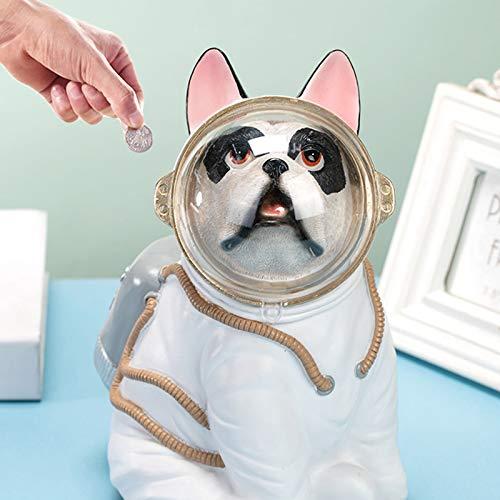 CDMA Niños Piggy Bank, Banco De Almacenamiento De Monedas De Gran Capacidad, Dog Animal Animal Bank, Decoración De La Sala De Estar En El Hogar 0428C(Size:Puede retirar Dinero)