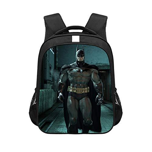 CJIUDI School Backpack,Prints School Bag,Lightweight Backpack,Casual Rucksack,Black 14,Waterproof Daypack,for College/School/Girls/Boys