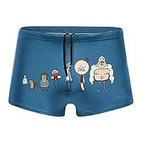 レギュラーショー 水着 メンズ 競泳水着 ファッション 男性 スイムウェア 水泳 競泳用 フィットネス用 水泳パンツ