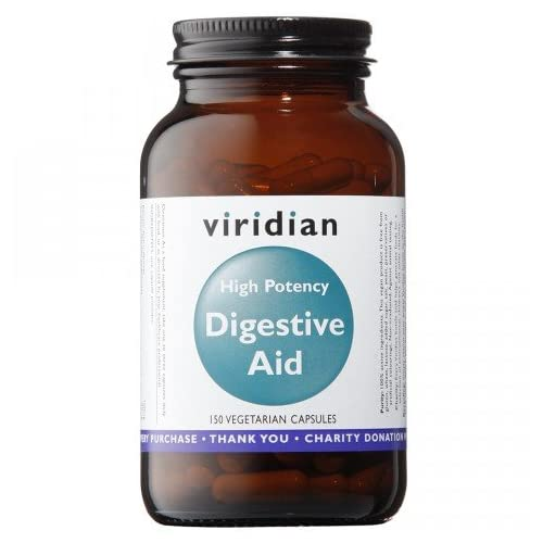 Viridian: High Potency Digestive Aid (Vegan) 150 Veg Caps