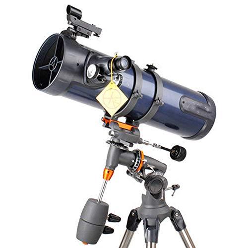 Novopus Monóculo:Telescopio Reflectante newtoniano, persecución en