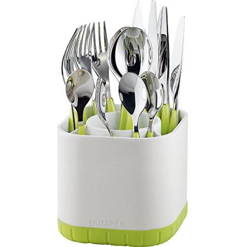 Guzzini Scolaposate Fill&Drain Kitchen Active Design, Verde Mela, 13 x 13 x h18 cm