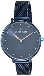 Daniel Klein Analog Blue Dial Women's Watch - DK11421-7,Daniel Klein Group,DK11421-7