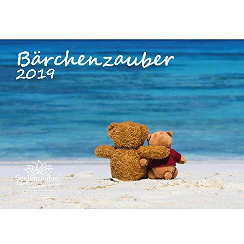 Bärchenzauber · DIN A4 · Premium Kalender 2019 · Teddy · Bär · Bärchen · Stofftier · Plüschtier · Edition Seelenzauber