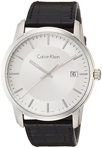 Calvin Klein Reloj Digital para Hombre de Cuarzo con Correa en Cuero K5S311C6