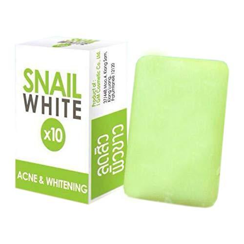 TSSPLUS 70g. SNAIL WHITE SOAP GLUTATHIONE X10 Whitening Skin Reduce Acne Anti Aging,NEW skin popular original