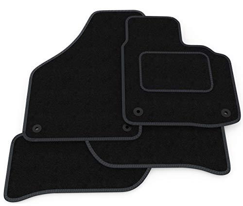 (Q17:CT65) 4 Piece Audi (2013-2018) A3 Vehicle Specific Car Mat Set Black...