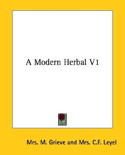 A Modern Herbal V1