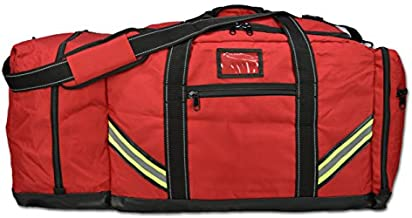 Lightning X Firefighter Premium 3XL Step-In Turnout Gear Bag - Red w/NO LOGO (Customizable)