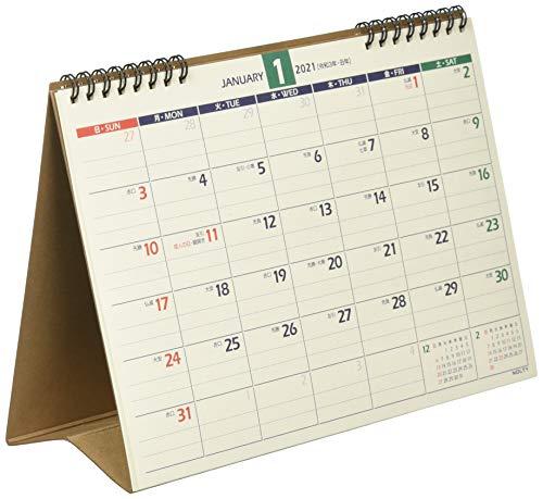 能率NOLTY2021年カレンダー卓上21B6C214