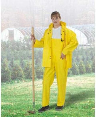 Onguard Tuftex Yellow Jacket W/Attached Hood, PVC, XL