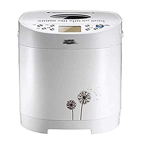 Automatische Broodbakmachine met Gist Dispenser, wit, huis bakkerij Loaf Programmable Mini Breadmaker