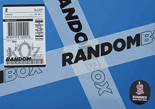 Random Box (incl. Photobook, Lyric Paper, Sticker Pack, Box Tape,Keyring + Pin Button)
