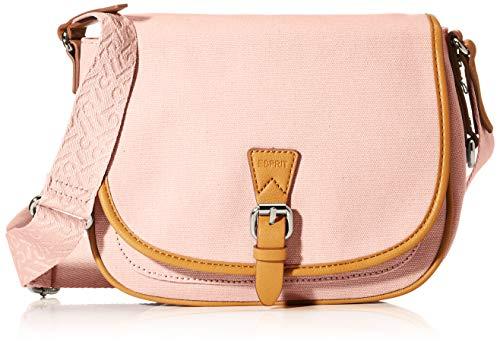 Esprit Susie T. Vegan Τσαντα Ωμου Γυναικεια Ροζ 30 Cm Pink