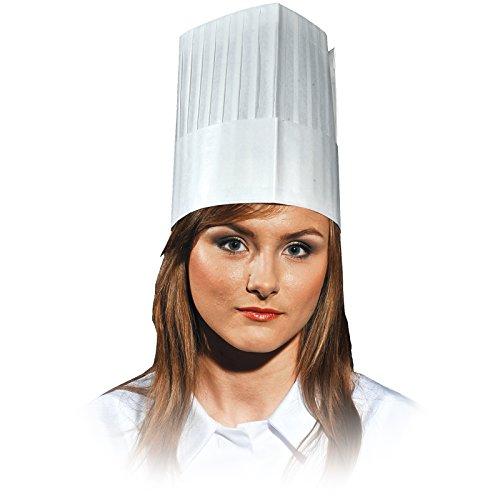 REIS EINWEG KOCHMÜTZE 10STK CZCOOK-KITCHEN Papiermütze Kochhut Kochhaube Küchenmütze